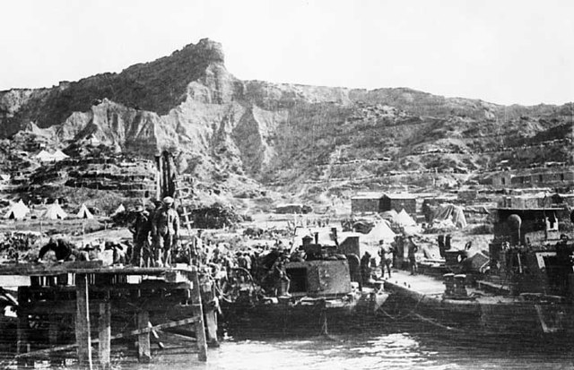 Evacuation of Gallipoli