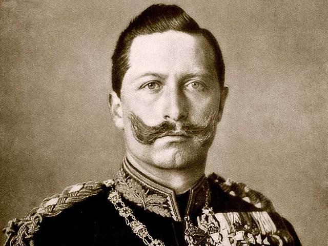 Kaiser Flees