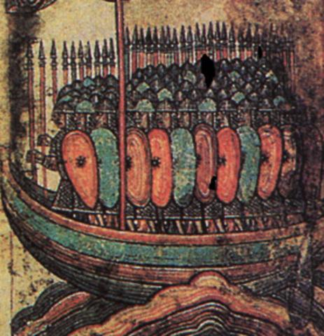 Viking Raids begin