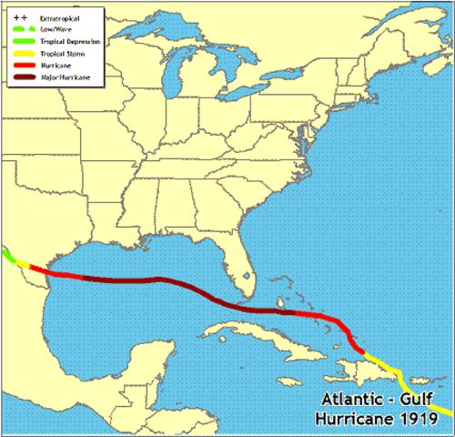 atlantic gulf hurricane