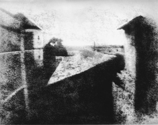 Joseph Niépce, the first photograph from nature