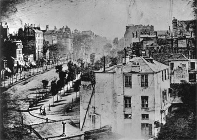 Louis Jacques Daguerre, Paris boulevard