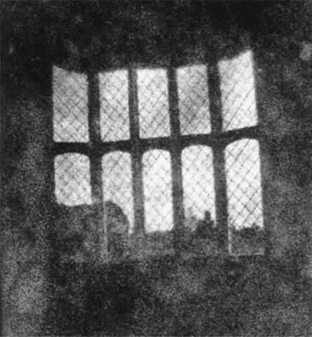 William Henry Fox Talbot, print from the first photographic negative