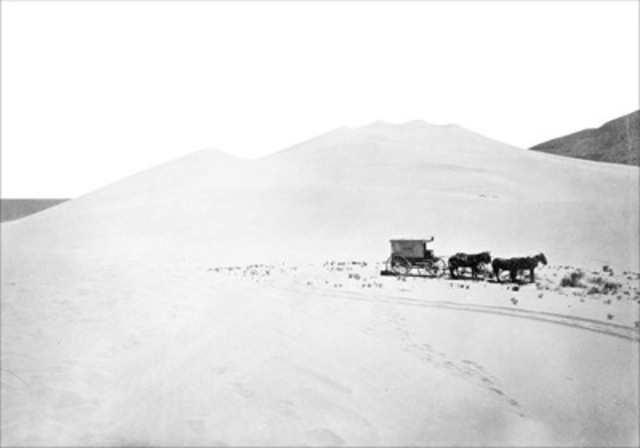 "Timothy H. O'Sullivan, ""Sand Dunes near Sand Springs, Nevada"
