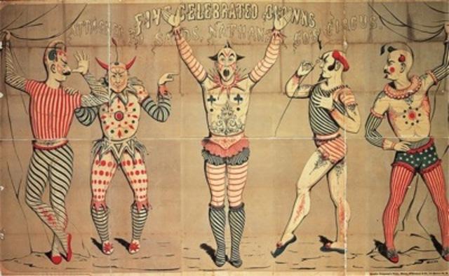 Joseph Morse, multicolored woodcut poster