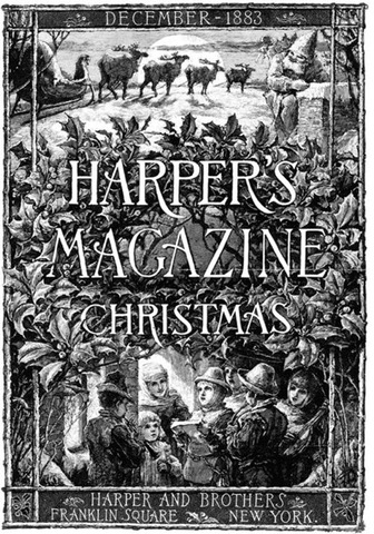 Richard G. Tietze, poster for Harper's Magazine