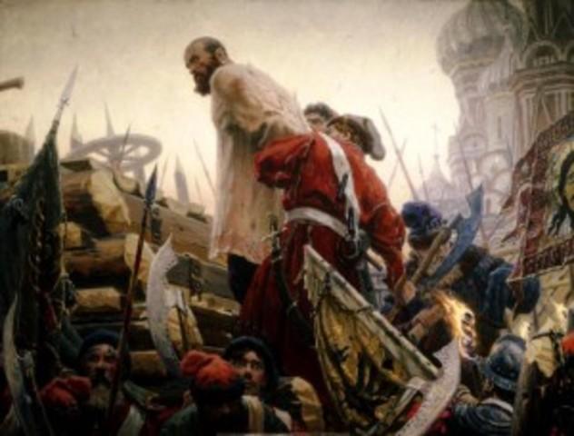 Восстание под предводительством Степана Разина