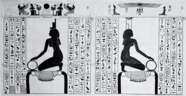 Papyrus and writing