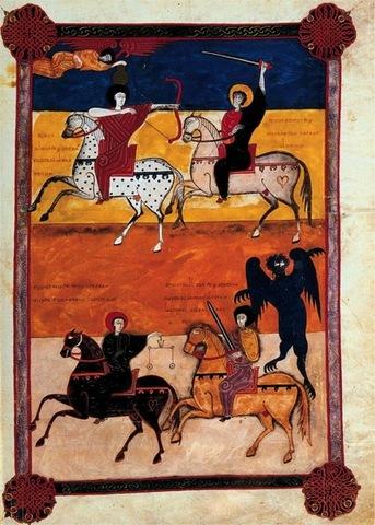 Romanesque and Gothic manuscripts