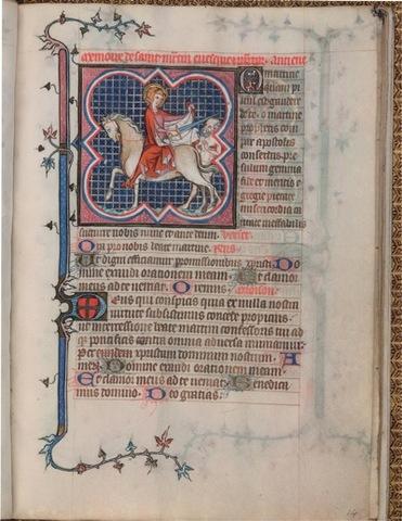 Late medieval illuminated manuscripts