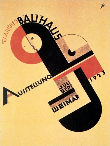 The Bauhaus and the New Typography characteristics