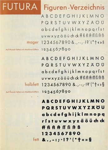 Bauhaus Futura
