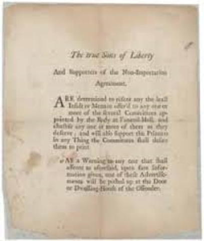 Boston Non-Importation Agreement