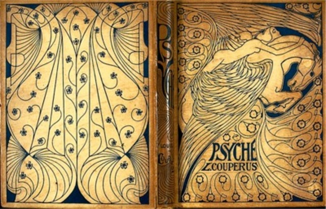 Jan Toorop, binding for Psyche, by Louis Couperus, published by L. J. Veen, Amsterdam