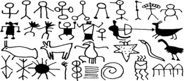 Petroglyphic Figures