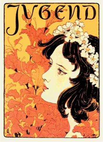 Otto Eckmann, Jugend cover
