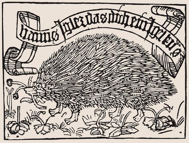 6–1. Ex libris design for Johannes Knabensberg,