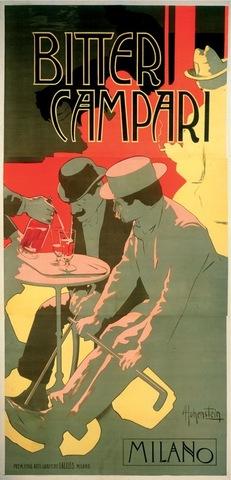 Adolfo Hohenstein, Bitter Campari poster