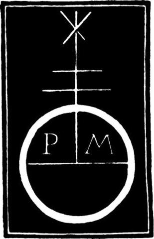 7–7. Pere Miguel, printer's mark,