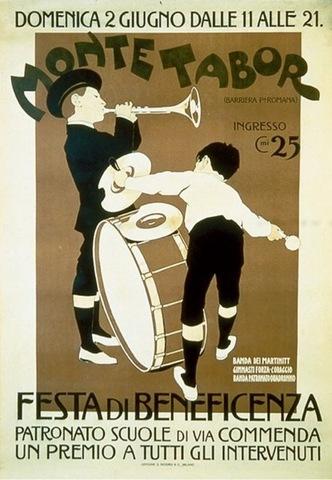 Franz Laskoff, Monte Tabor poster