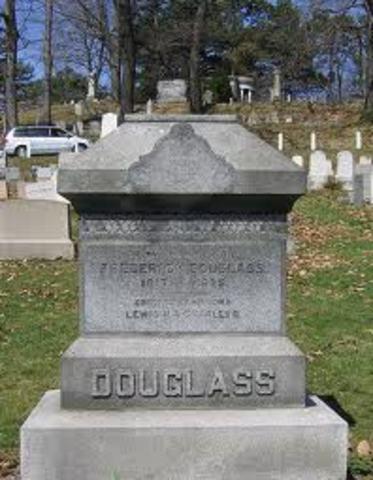 Frederick Douglass' Death