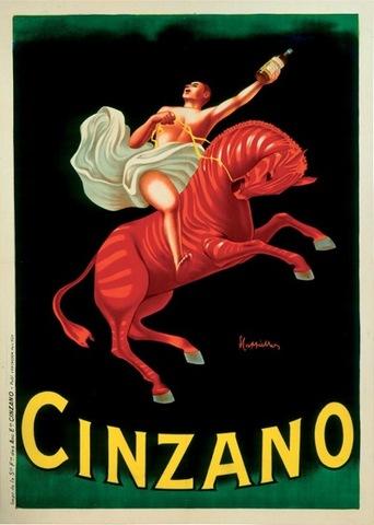 Leonetto Capiello, Cinzano poster
