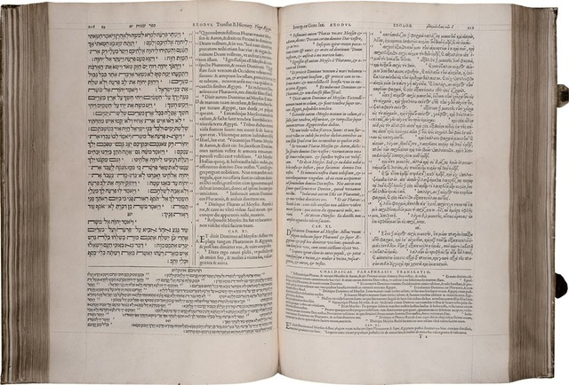 7–50. Christophe Plantin, pages from the Polyglot Bible,