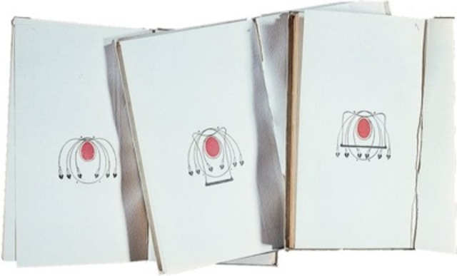 Talwin Morris, bindings for the Red Letter Shakespeare series, c.