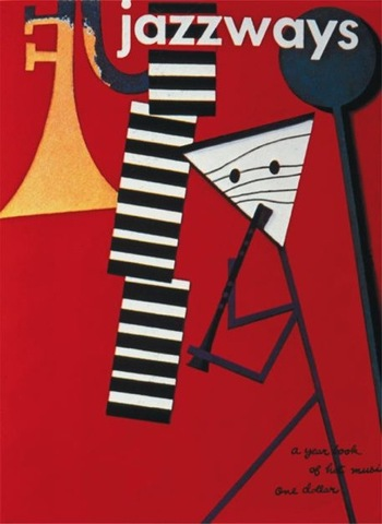 Paul Rand, Jazzways yearbook cover,