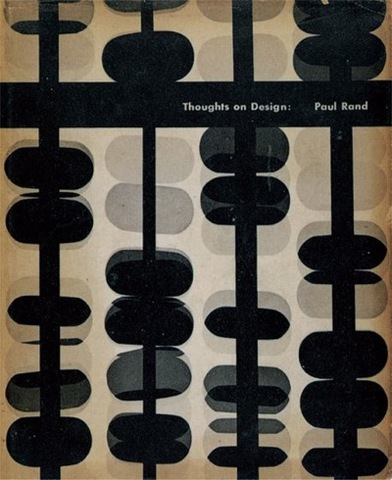 Paul Rand, cover for Thoughts on Design