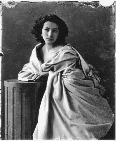 "9–41. F. T. Nadar, ""Sarah Bernhardt,"" 1859."