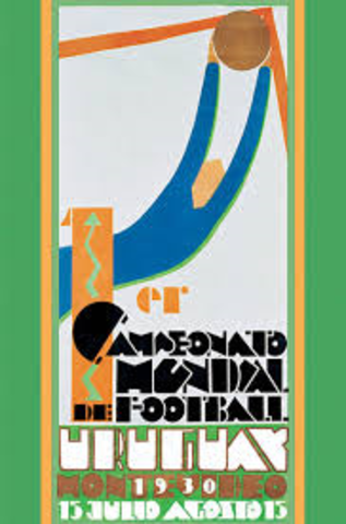 Primer copa mundial Urugay 1930
