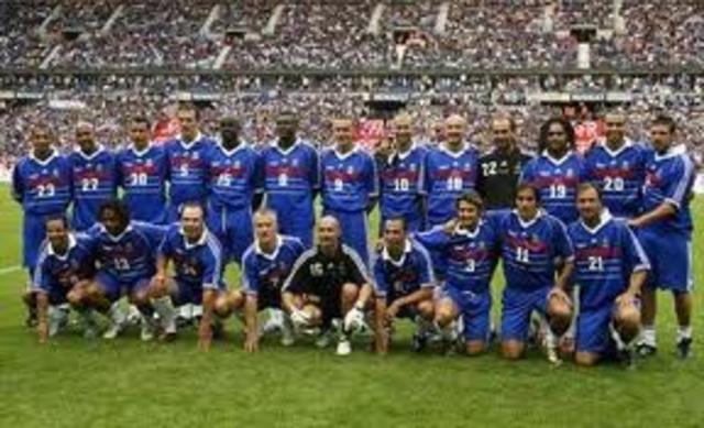 Primer campeonato de Francia