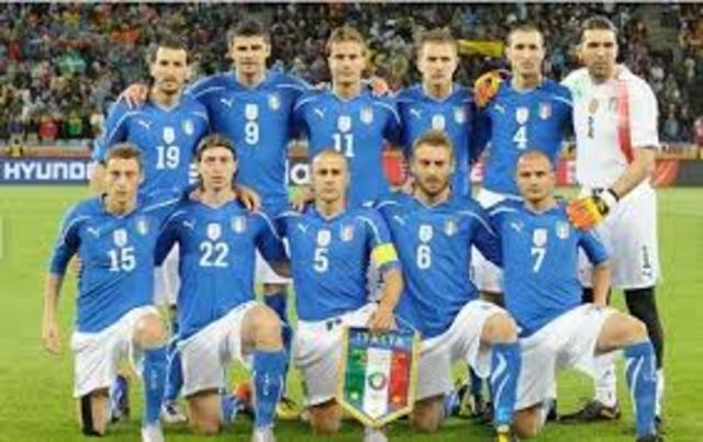 Italia, cuarta copa