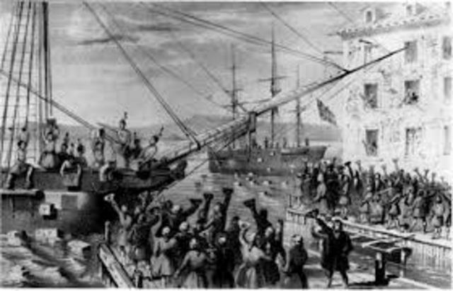 "Boston Port Act: ""Intolerable Acts"""