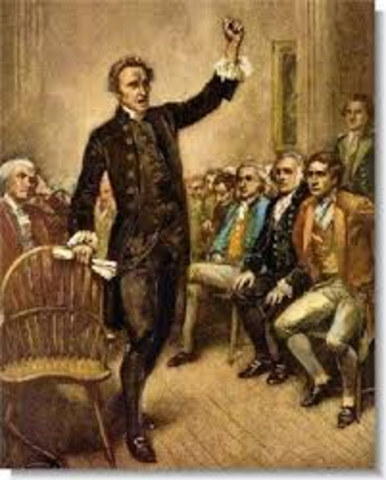 "Patrick Henry's ""Give me liberty or give me death"" Speech"