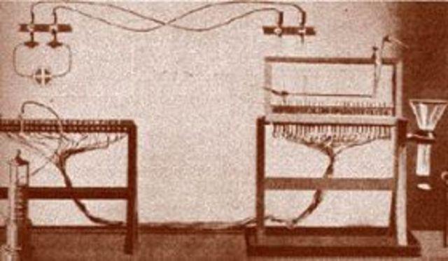 Telégrafo eléctrico.