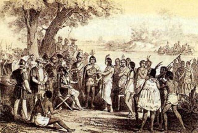 Primeros intentos para desarrollar colegios para indigenas