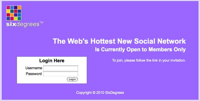 La primera red social