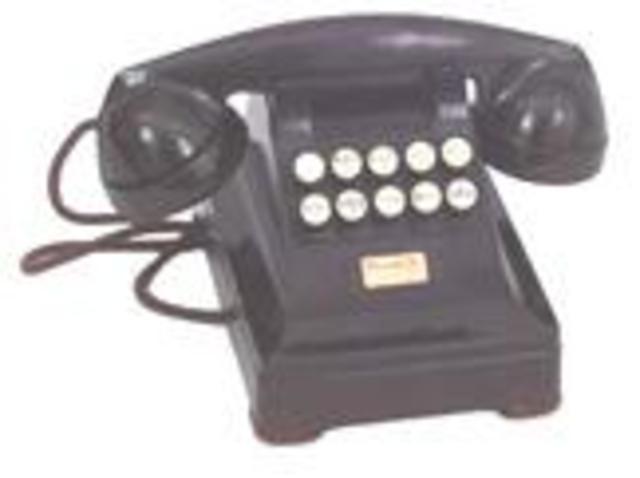 TELÉFONO CON PULSADORES Y DIGITALES