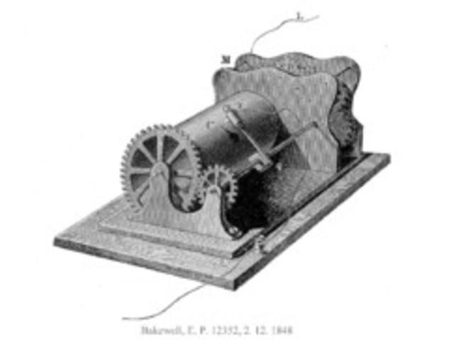 COPIADORA DE TELEGRAFO (PRIMER FAX)