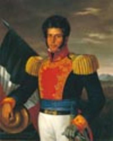 Vicente Guerrero continúa la resistencia.