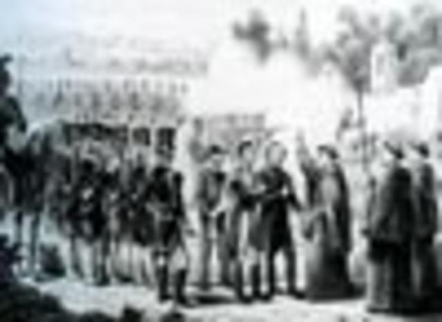 Allende, Aldama y Jiménez son fusilados en Chihuahua.