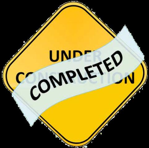 ETA to 100% Completion