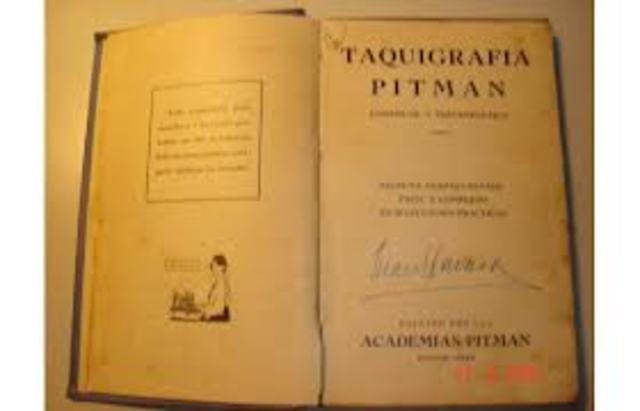 Invención de la taquigrafía Pitman