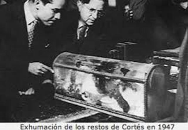 Muerte de Cortes