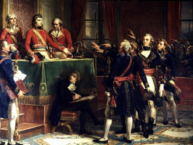 Napoleon as First Consul, establishes himself at the Tuileries