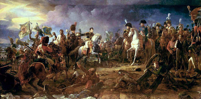 Napoleon triumphs at Austerlitz