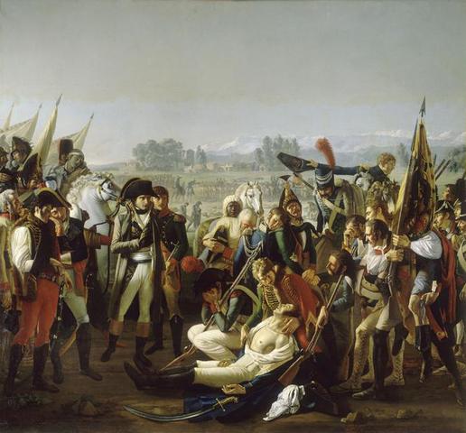 Napoleon defeats Austrians at Marengo