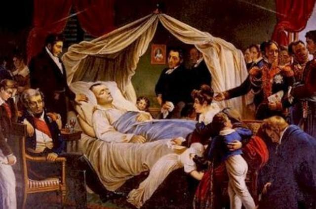 Napoleon's Death on St Helena